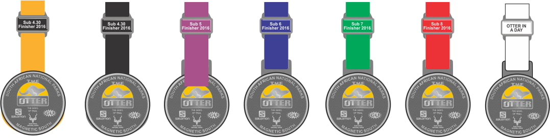 OTTER MEDALS