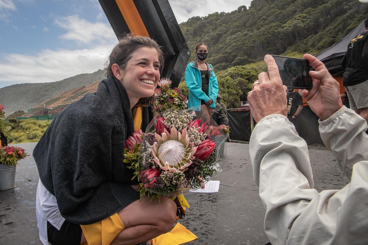 Toni McCann wins Otter Race 2020